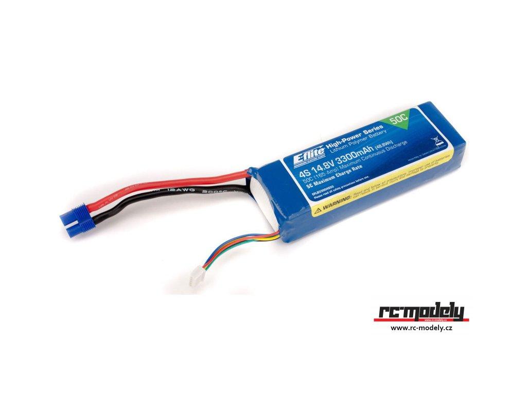 E-flite LiPo 14.8V 3300mAh 50C EC3