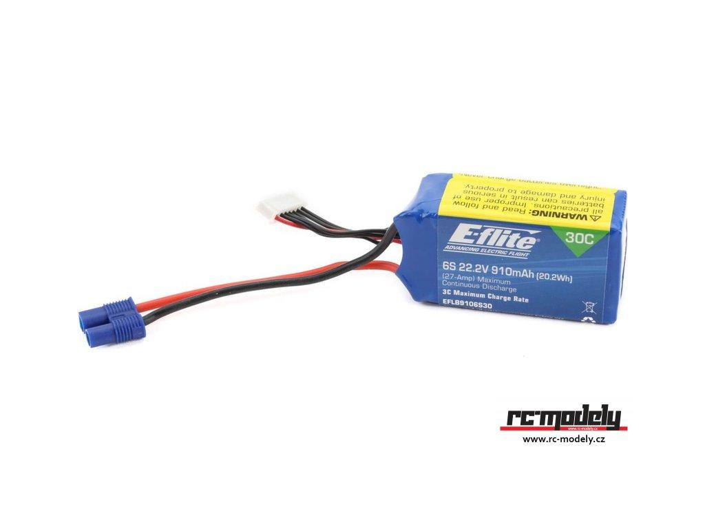 E-flite LiPo 22.2V 910mAh 30C EC3