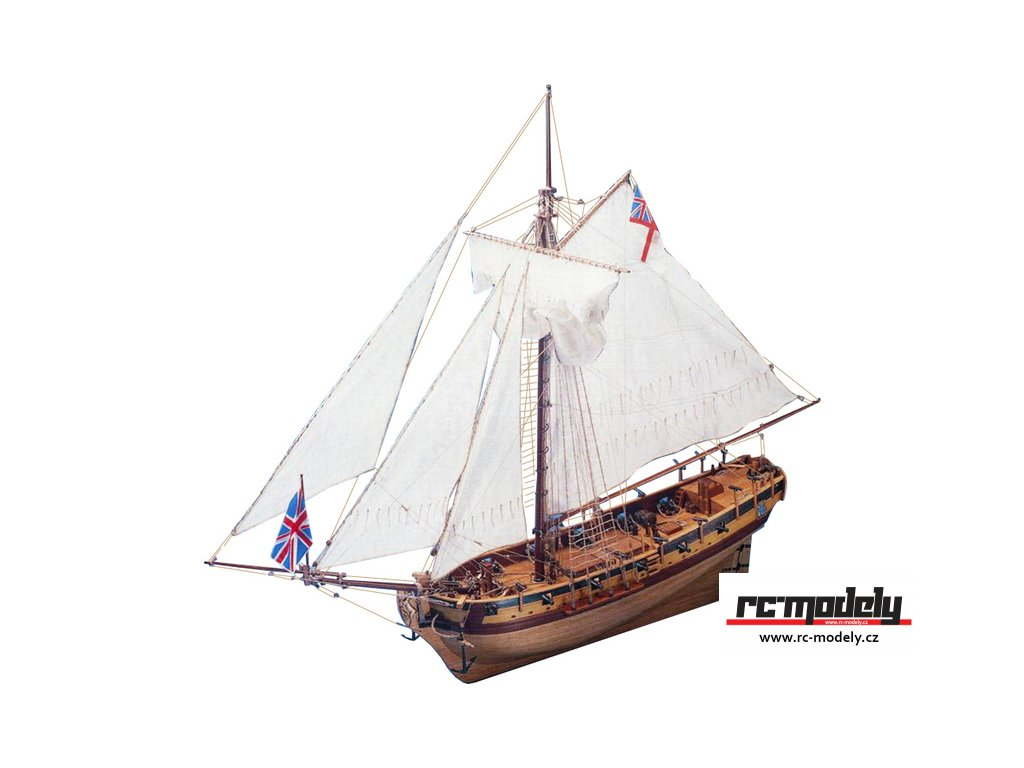 COREL H.M.S. Resolution 1700 1:50 kit