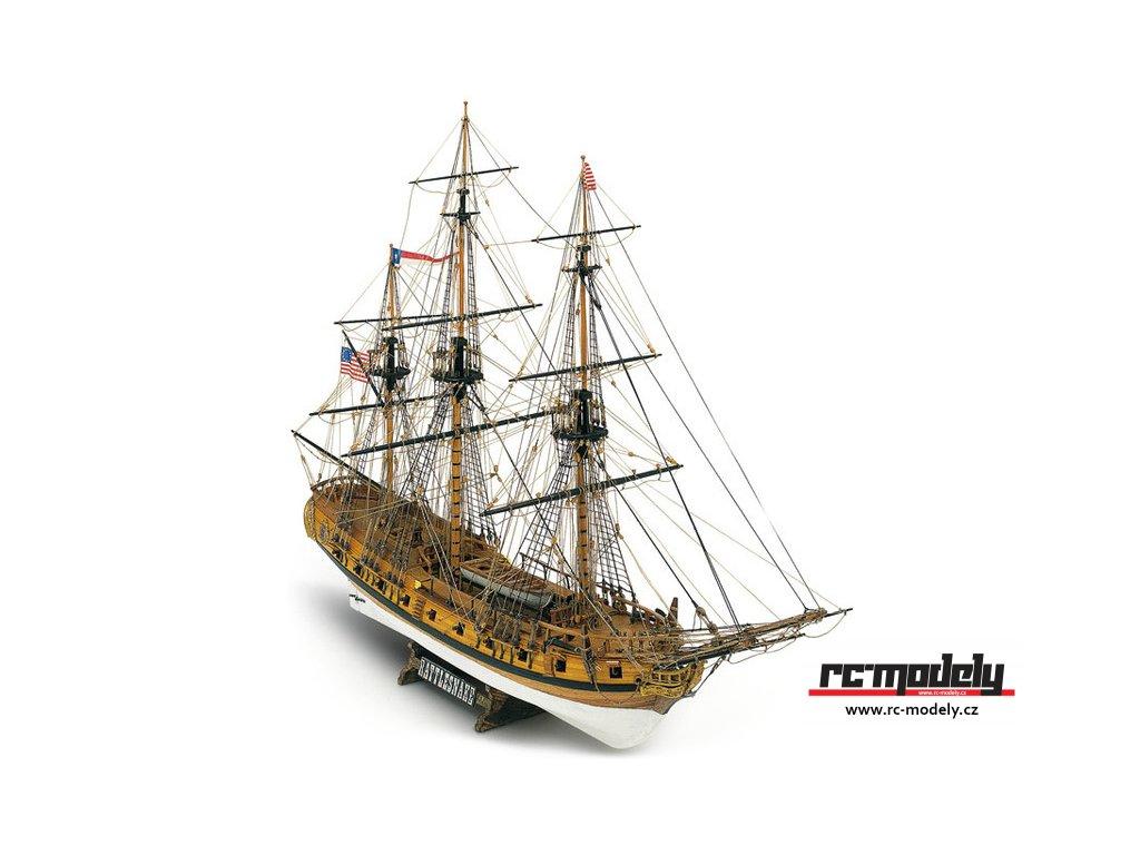 MAMOLI Rattlesnake 1779 1:64 kit