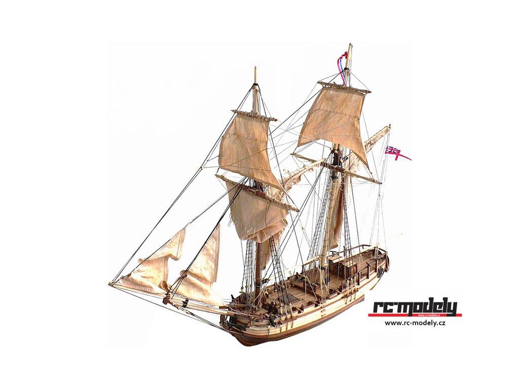 CONSTRUCTO Halifax škuner 1768 1:35 kit