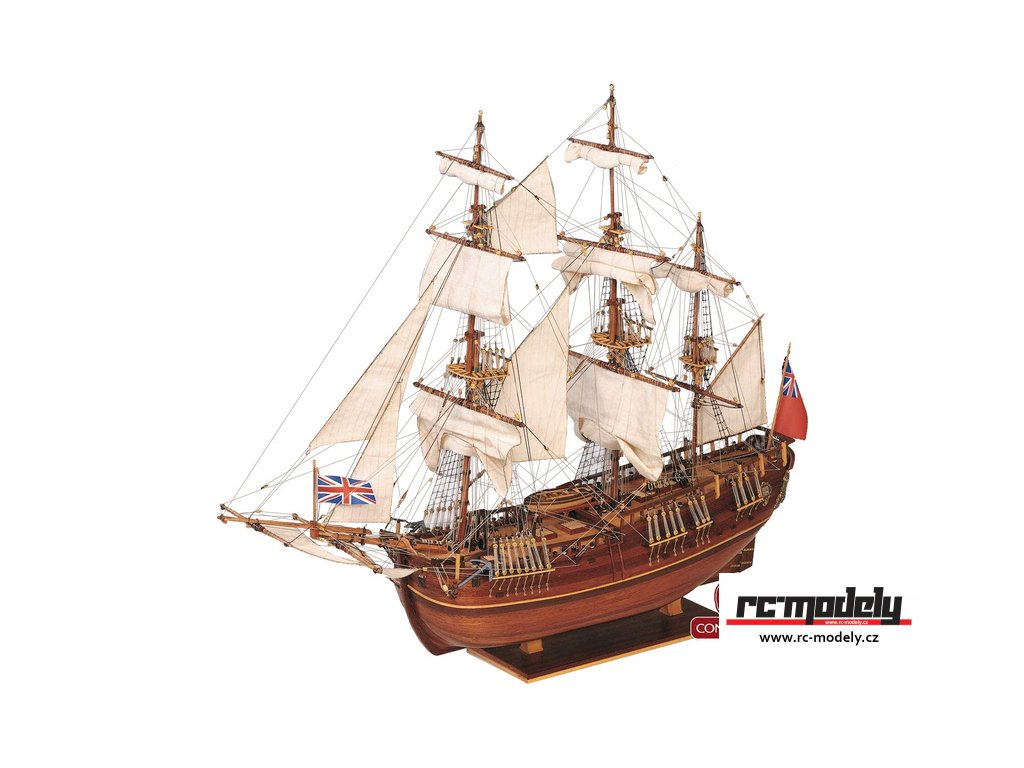 CONSTRUCTO Endeavour briga 1769 1:60 kit