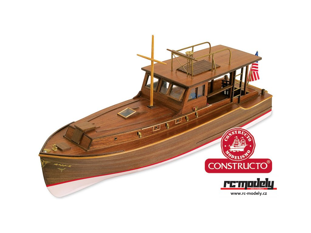 CONSTRUCTO Pilar motorový člun E.Hemmingwaye 1934 1:27 kit