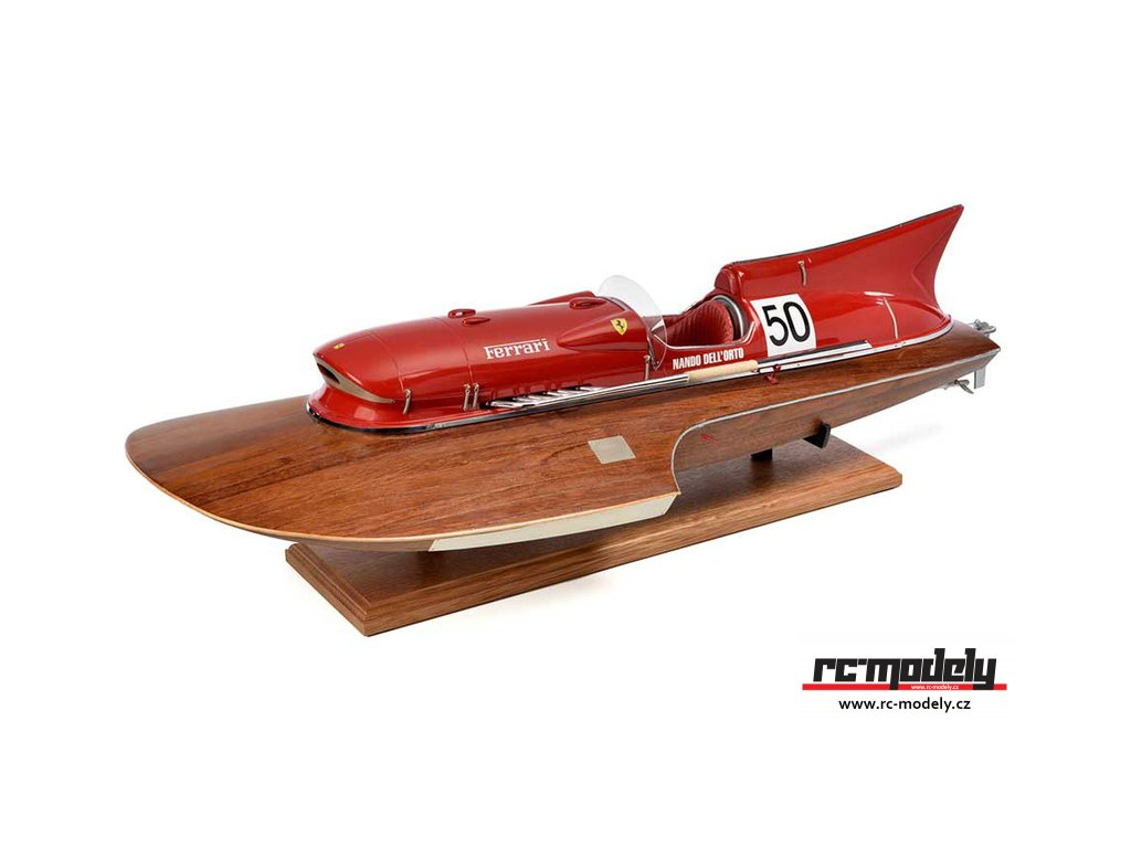 AMATI Arno XI Racer závodní člun 1960 1:8 kit