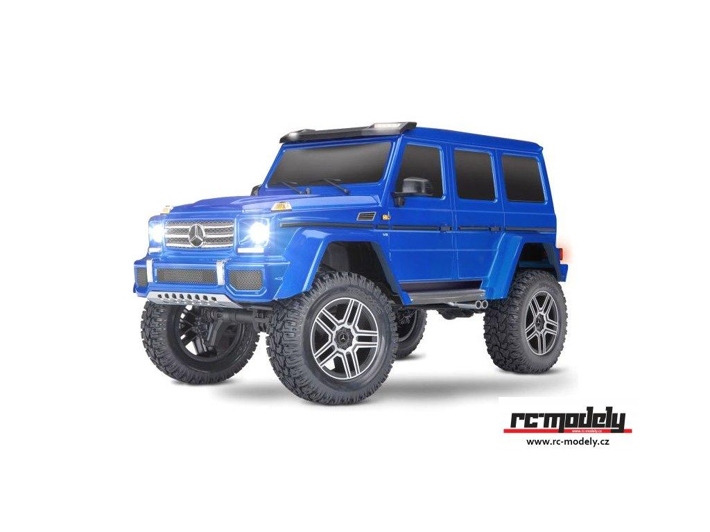 Traxxas TRX-4 Mercedes G500 1:10 TQi RTR s LED osvětlením modrý