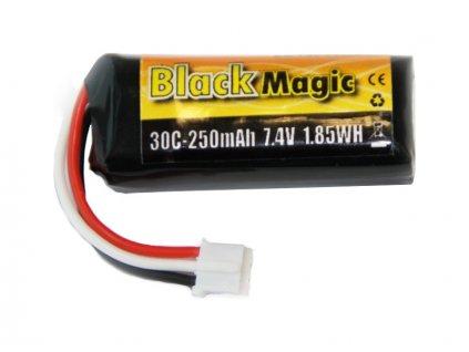 Black Magic LiPol 7.4V 250mAh 30C JST-PH