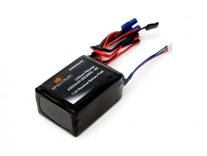Spektrum baterie přijímače LiPol 7.4V 4000mAh