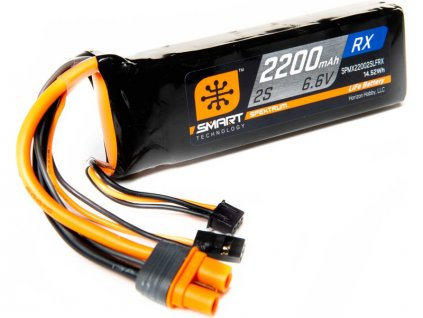 Spektrum Smart LiFe 6.6V 2200mAh Rx IC3