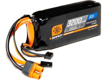 Spektrum Smart LiFe 9.9V 3200mAh Rx IC3