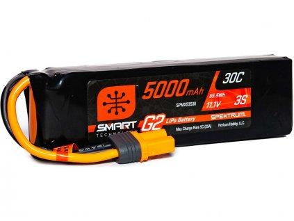 Spektrum Smart G2 LiPo 11.1V 5000mAh 30C IC5
