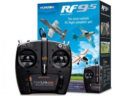 RealFlight 9.5 simulátor, ovladač Spektrum