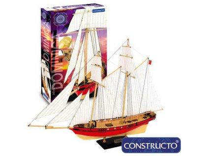 CONSTRUCTO Dominica škuner 1:88 Adventure kit