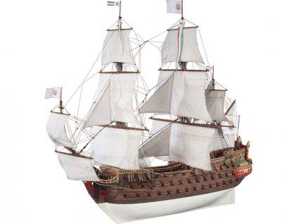 Dušek Nuestra Senora 1687 1:72 kit
