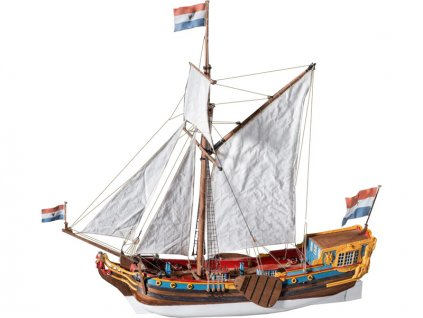 Dušek Holandská státní jachta 17st. 1:48 kit
