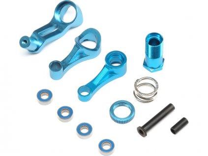 ECX Servo saver, mechanika řízení hliník: 1:10 2WD