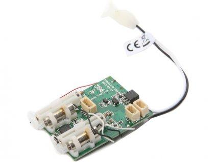 Spektrum přijímač AS6410L DSM2/DSMX 6CH AS3X 1xESC