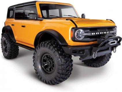 Traxxas TRX-4 Ford Bronco 2021 TQi 1:10 RTR oranžový
