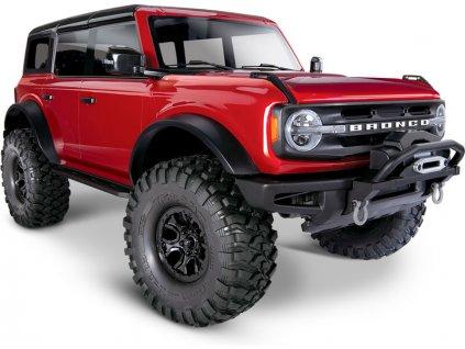 Traxxas TRX-4 Ford Bronco 2021 TQi 1:10 RTR červený