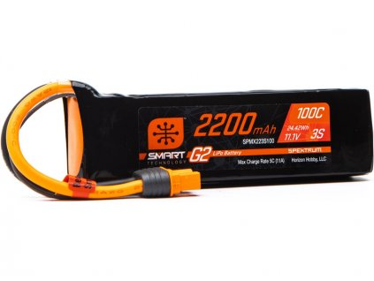 Spektrum Smart G2 LiPo 11.1V 2200mAh 100C IC3