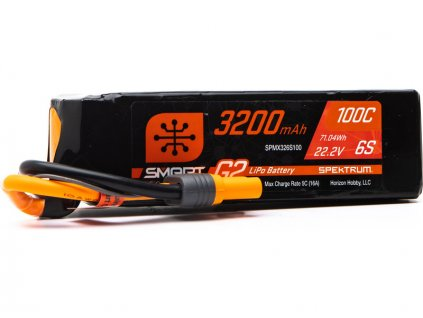 Spektrum Smart G2 LiPo 22.2V 3200mAh 100C IC5