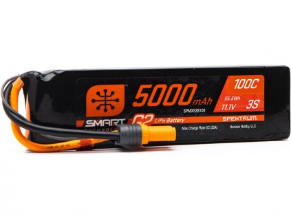 Spektrum Smart G2 LiPo 11.1V 5000mAh 100C IC5