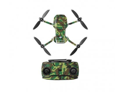 MAVIC MINI - Sada nálepek (Green)