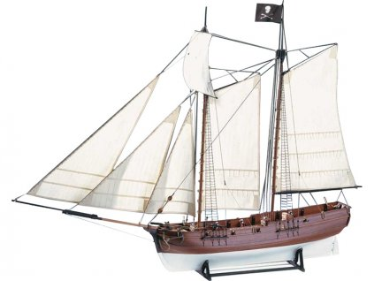 AMATI Adventure pirátská loď 1760 1:60 kit