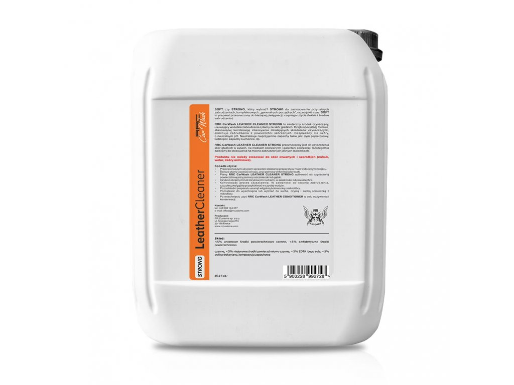 RRC LEATHER CLEANER STRONG 5 L