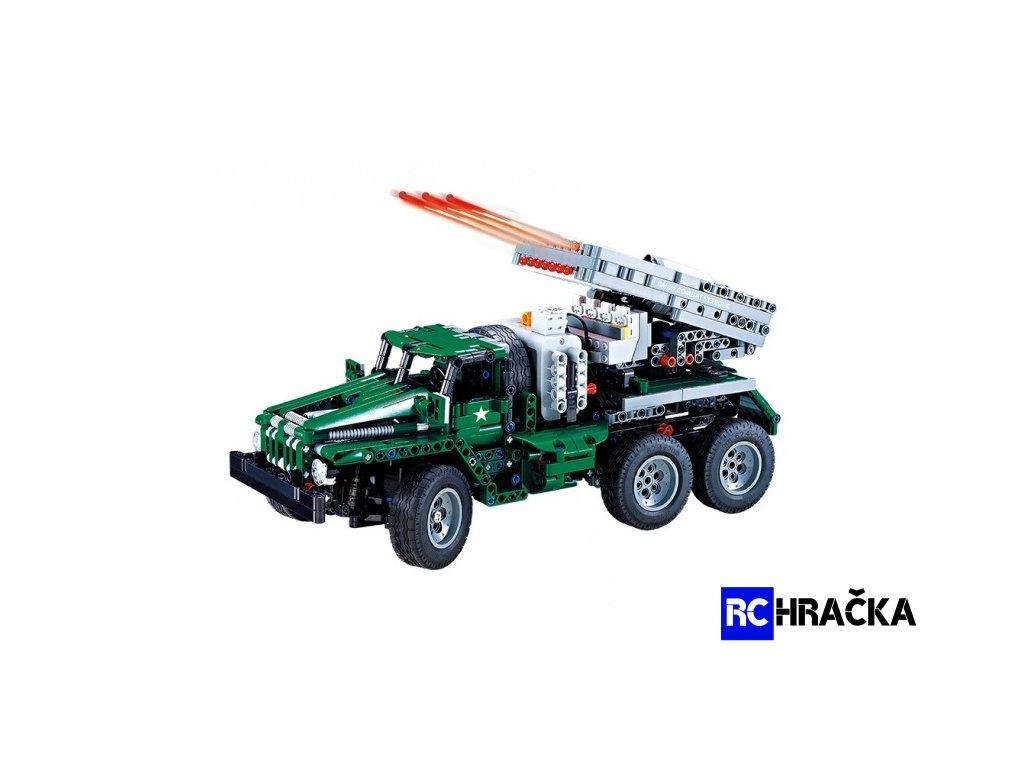 RC combat vehicle - stavebnice - (1369 dílků)