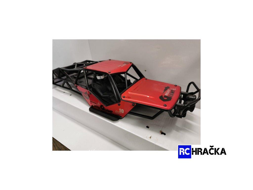 Karoserie Miracle crawler - červená