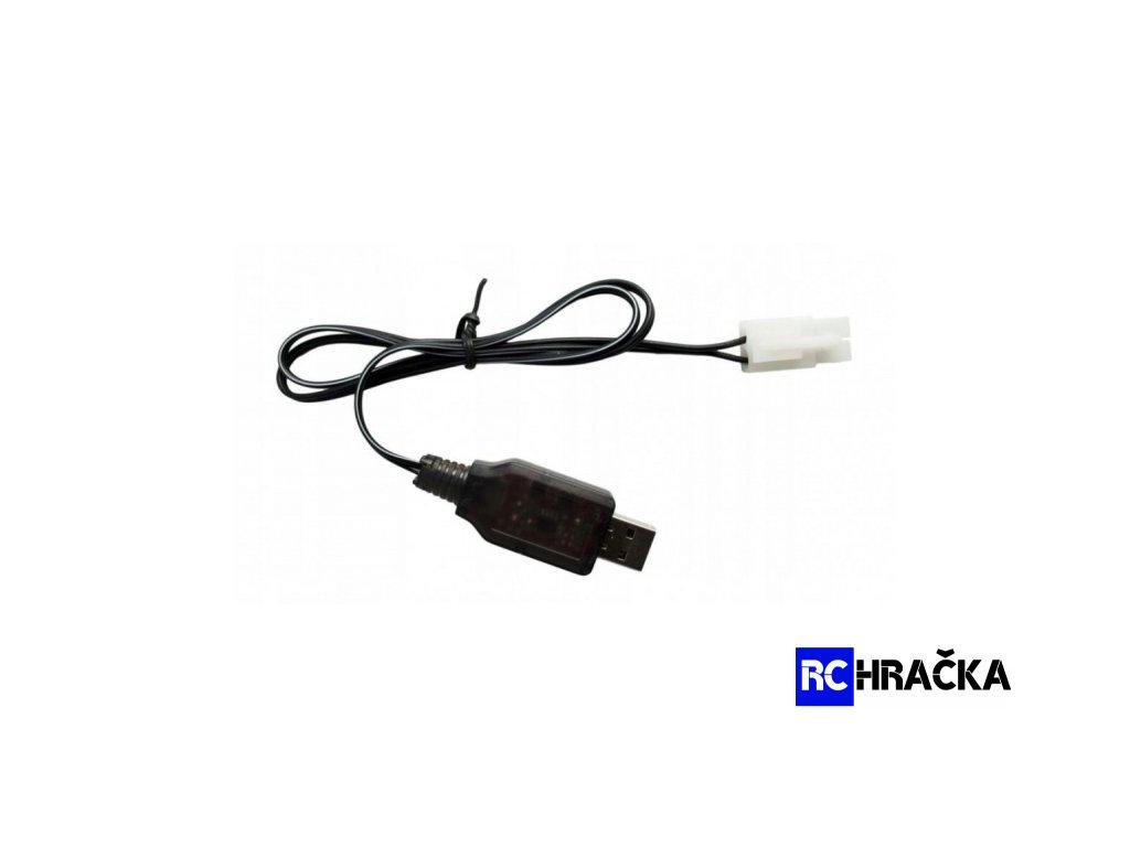 Nabíječka USB NiCd / NiMh 9.6V 250mA Tamiya