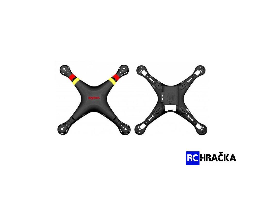 Skelet kompletní černá X8C-01B