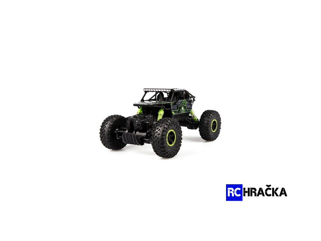 CONQUEROR 4x4 - 2,4Ghz - 1/18 - malý crawler - zelený