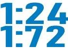 RC auta 1:24 - 1:72