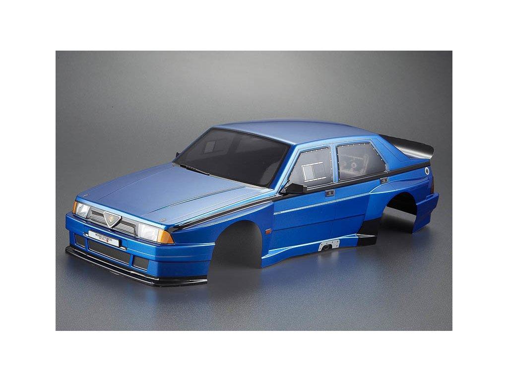 Killerbody karosérie 1:10 Alfa Romeo 75 Turbo modrá