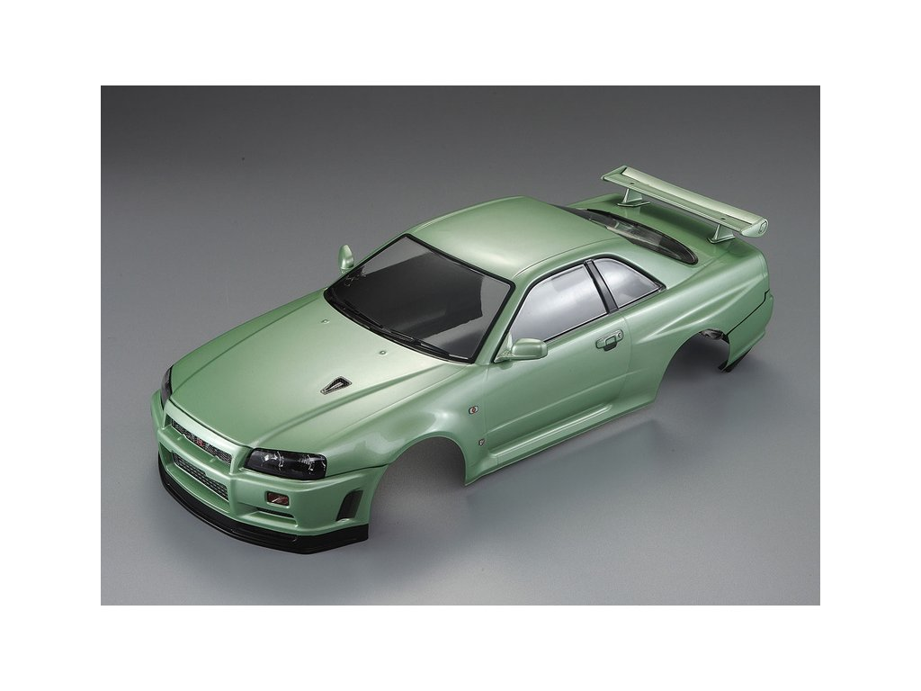 Killerbody karosérie 1:10 Nissan Skyline R34 zelená