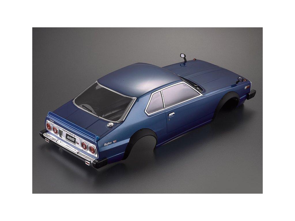 Killerbody karosérie 1:10 Nissan Skyline 2000 GT-ES modrá