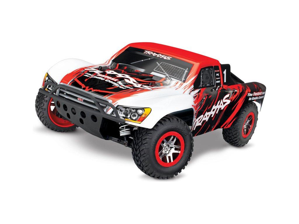 Traxxas Slash 1:10 VXL 4WD TQi RTR červený