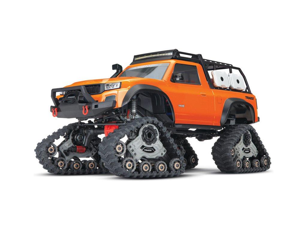 Traxxas TRX-4 Traxx 1:10 RTR oranžový