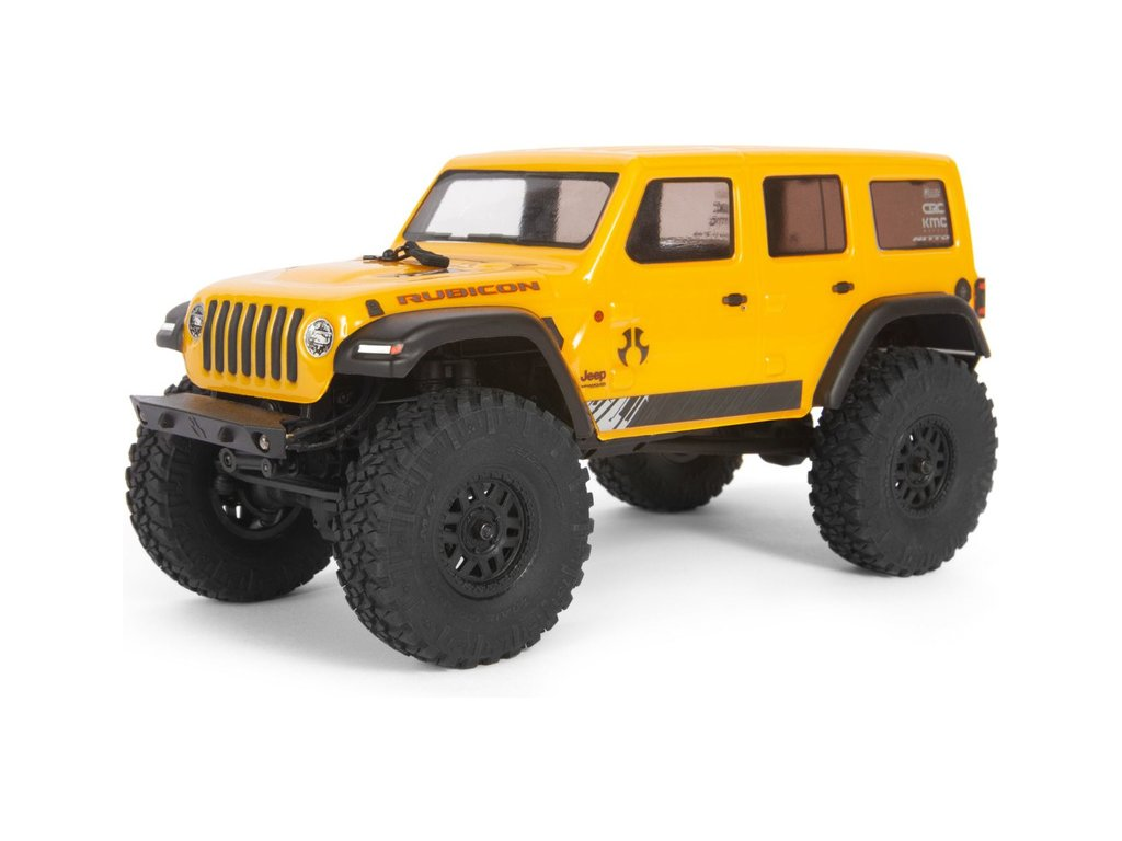Axial SCX24 Jeep Wrangler JLU CRC 2019 1:24 4WD RTR žlutý