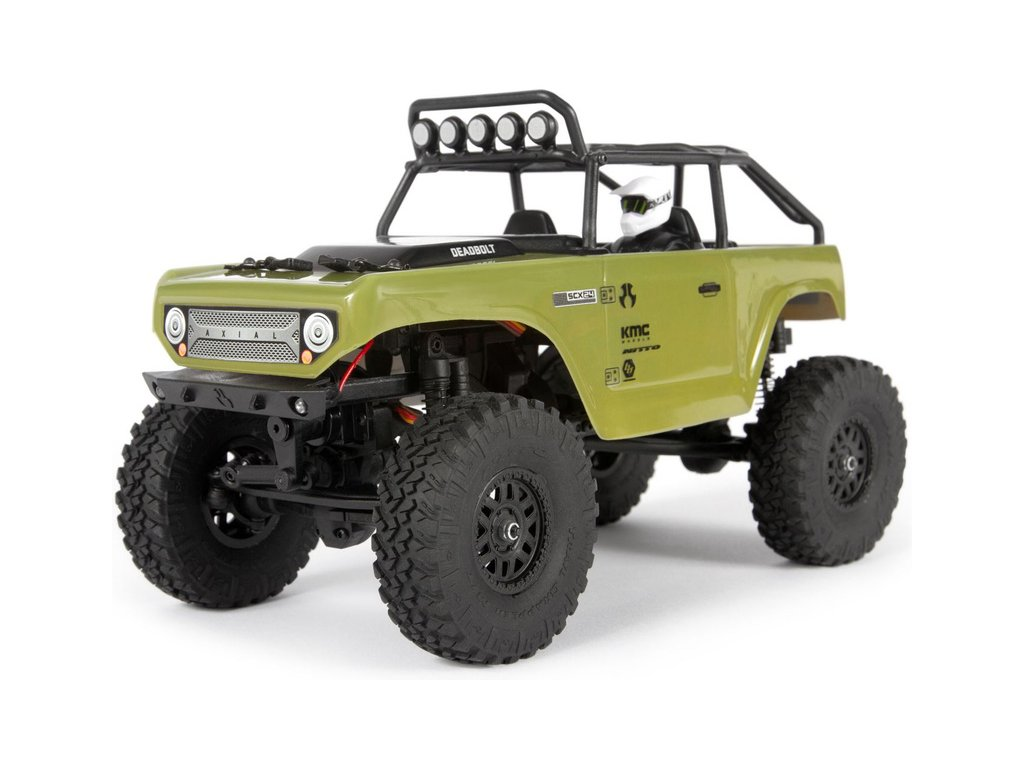 Axial SCX24 Deadbolt 1:24 4WD RTR zelený