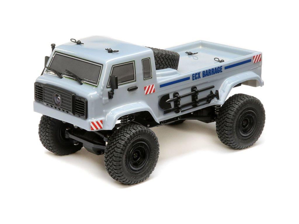 ECX Barrage UV 1:24 FPV 4WD RTR šedý