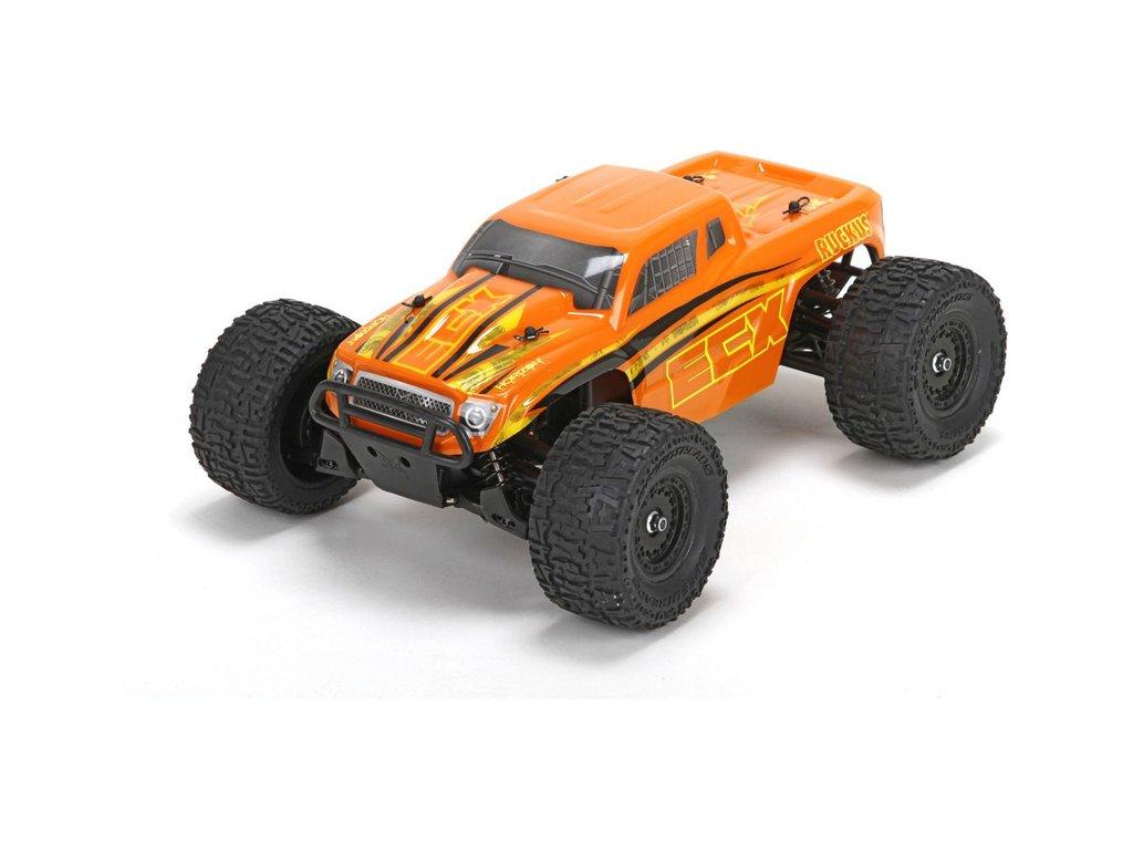 ECX Ruckus 1:18 4WD RTR oranžový