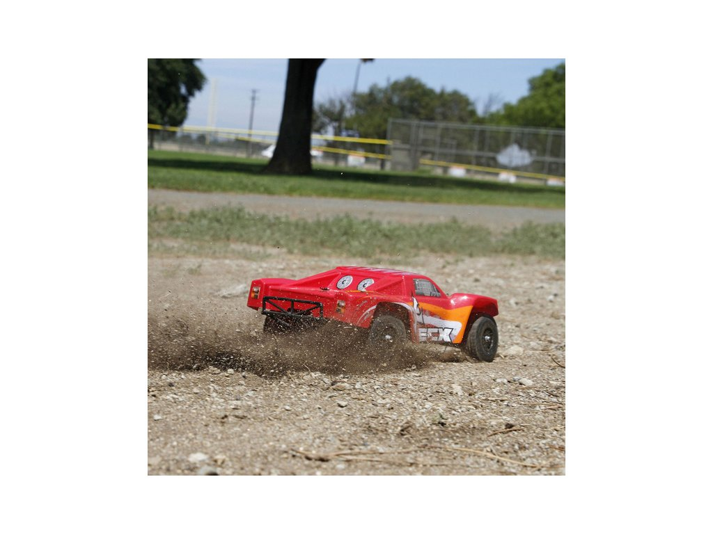 ECX Torment 1:18 4WD RTR červený
