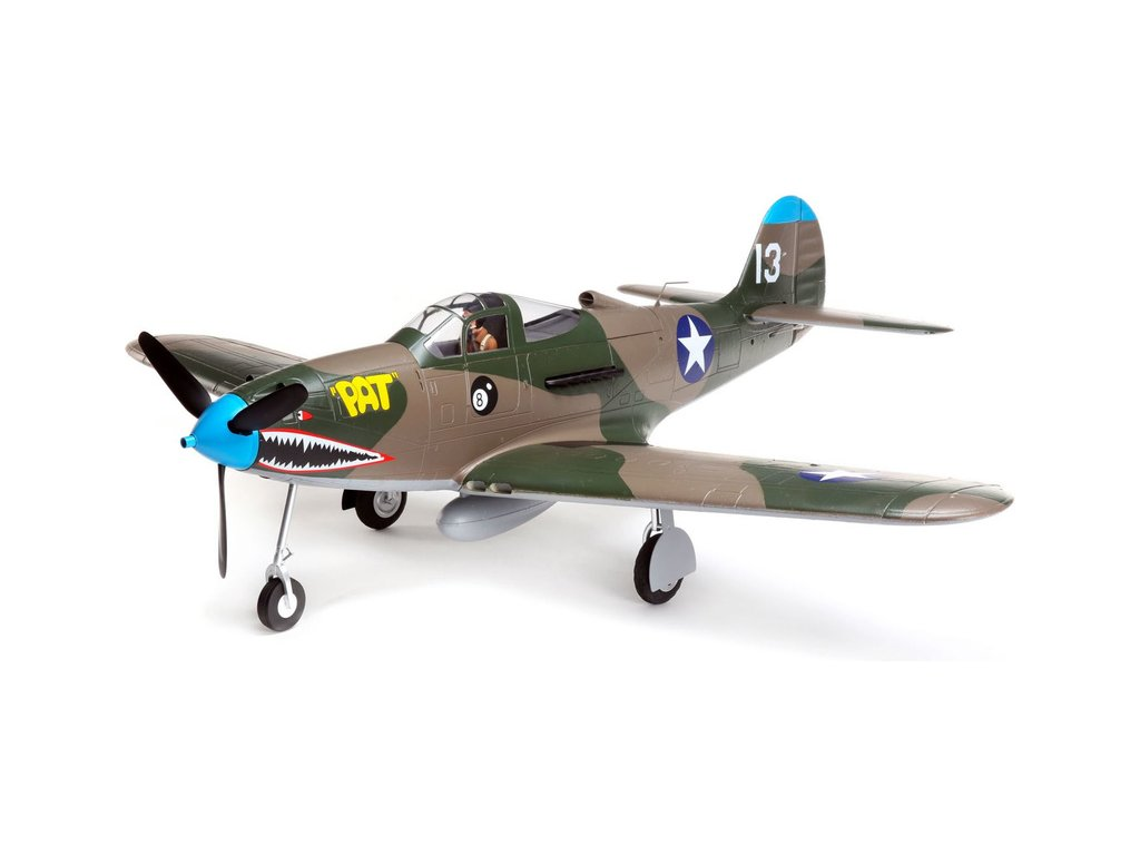 E-flite P-39 Airacobra 1.2m SAFE Select BNF Basic