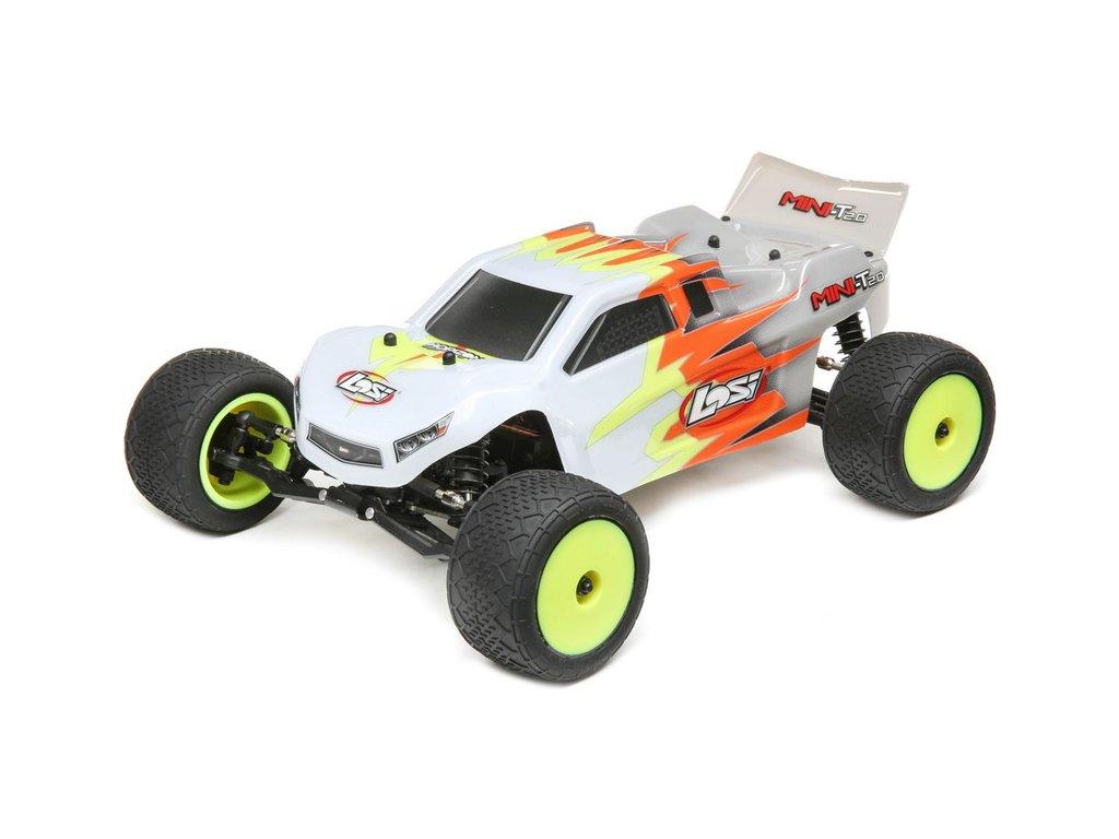 Losi Mini-T 2.0 1:18 RTR šedá/bílá