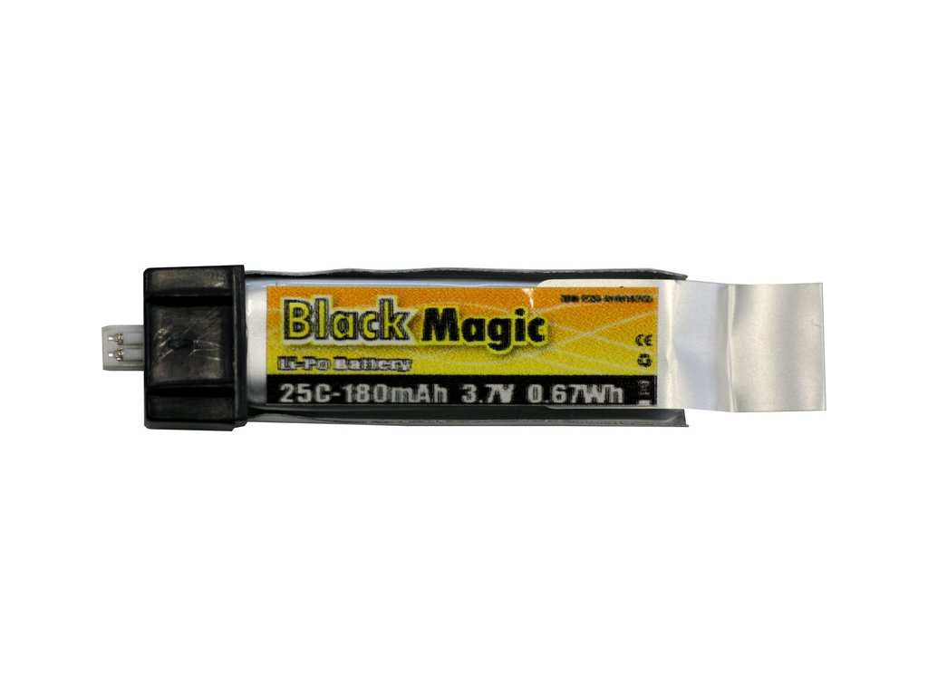 Black Magic LiPol 3.7V 180mAh 25C EFL