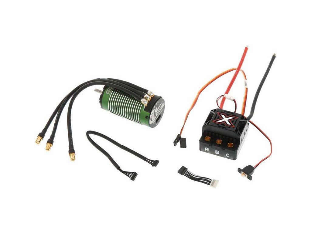 Castle motor 1515 2200ot/V senzored, reg. Mamba Monster X