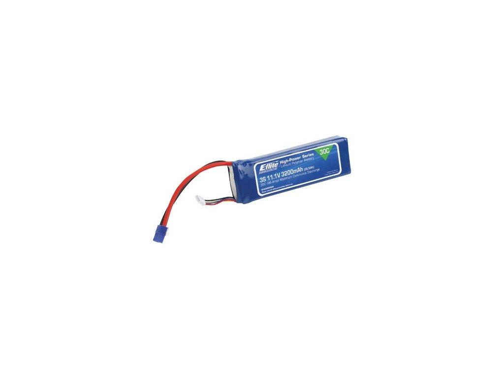 E-flite LiPo 11.1V 3200mAh 30C EC3
