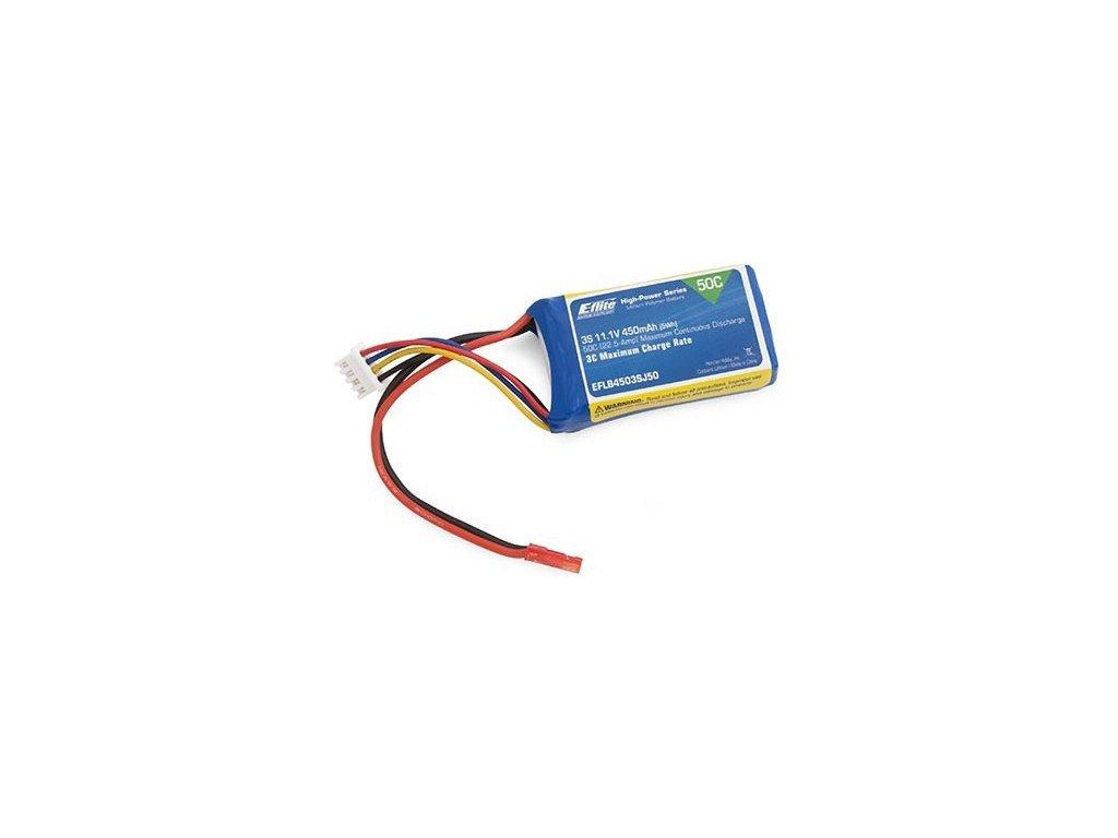 E-flite LiPo 11.1V 450mAh 50C JST